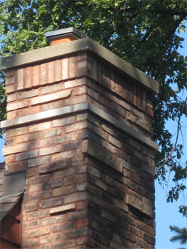 This is a look at the Riverside Chimney Repaired